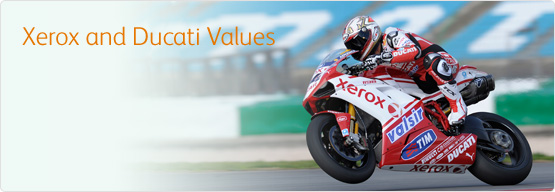 Xerox and Ducati Values